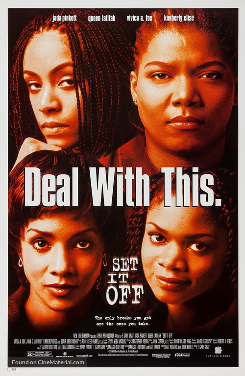 Set It Off - Movie Poster