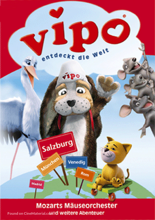 """""""Vipo: Adventures of the Flying Dog"""" - German Movie Cover"""