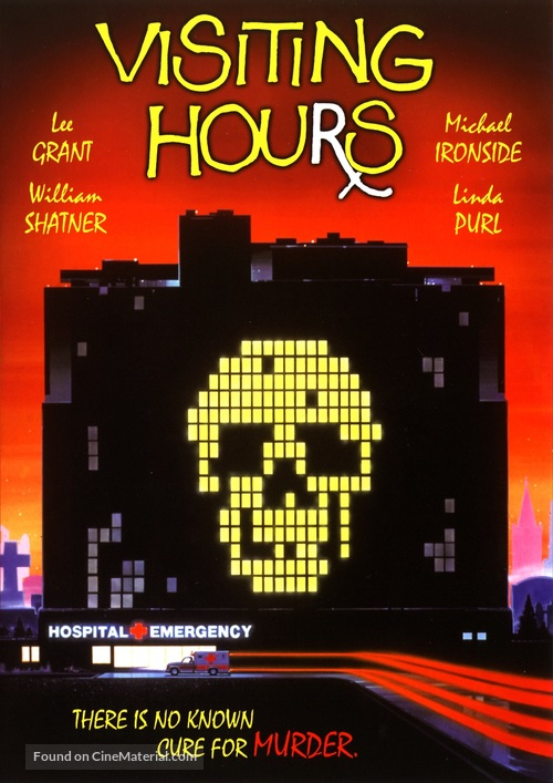 Visiting Hours - DVD movie cover