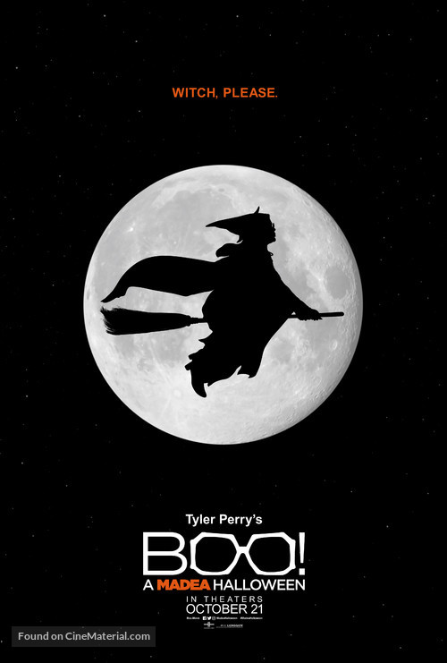 Boo! A Madea Halloween - Teaser movie poster