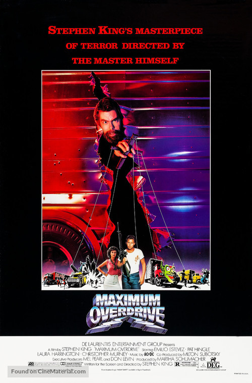 Maximum Overdrive - Movie Poster
