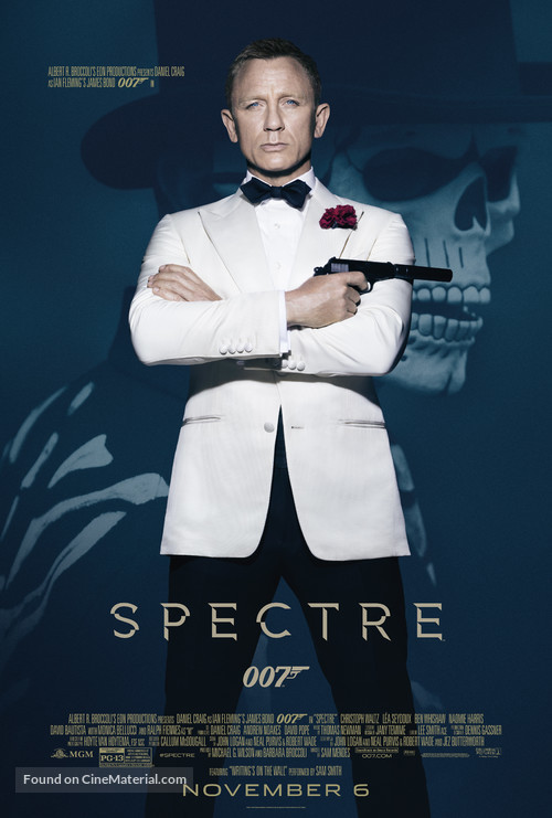 Spectre - Theatrical movie poster