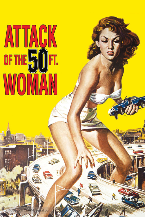 Attack of the 50 Foot Woman - Movie Cover