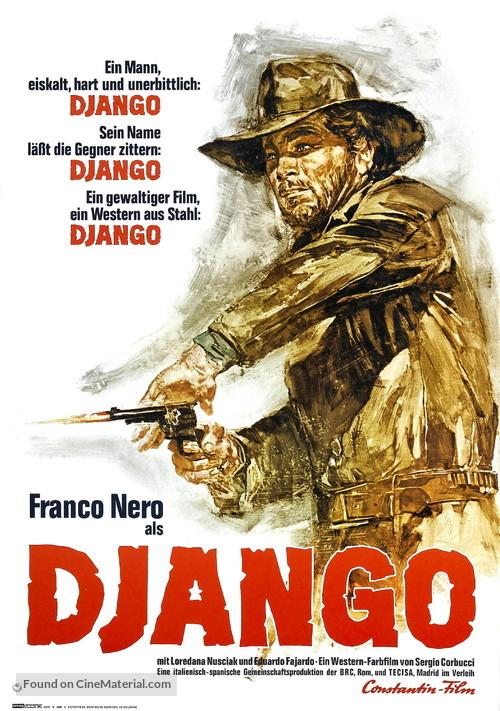 Django - German Movie Poster