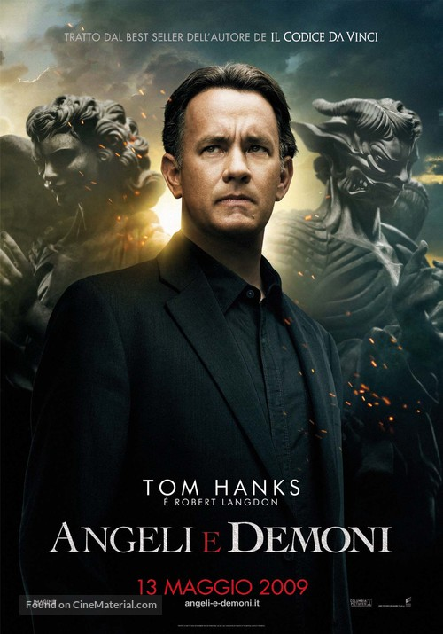 Angels & Demons - Italian Movie Poster
