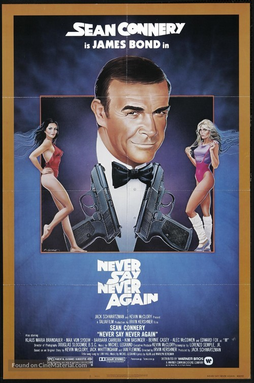 Never Say Never Again - Theatrical movie poster