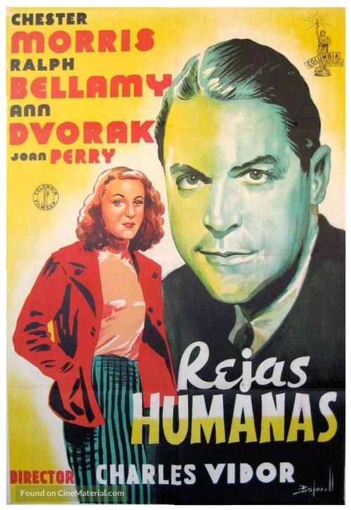 Blind Alley - Spanish Movie Poster