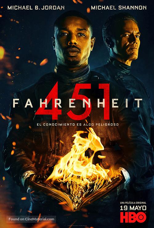 fahrenheit 451 mexican movie poster