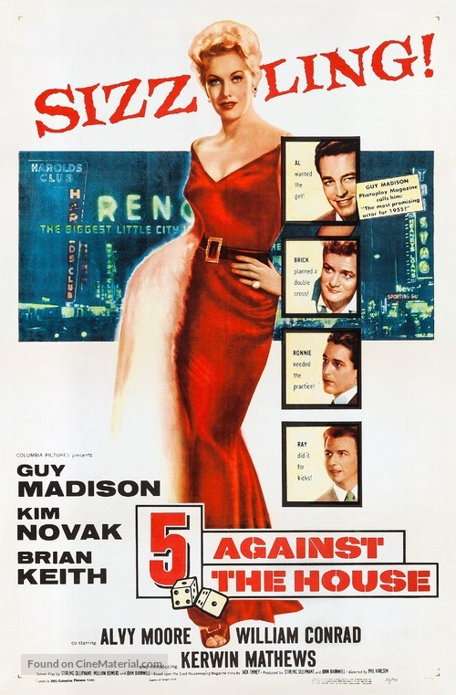 5 Against the House - Movie Poster
