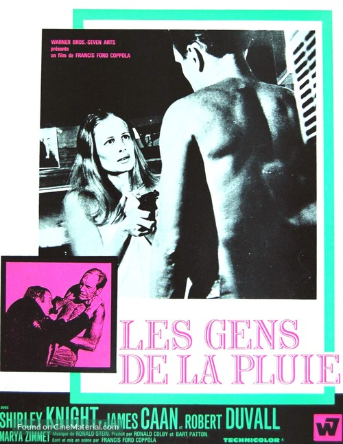 The Rain People - French Movie Poster