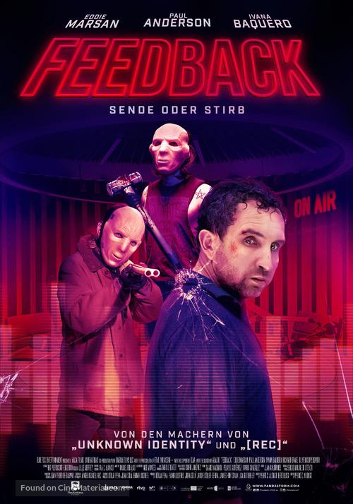 Feedback - German Movie Poster