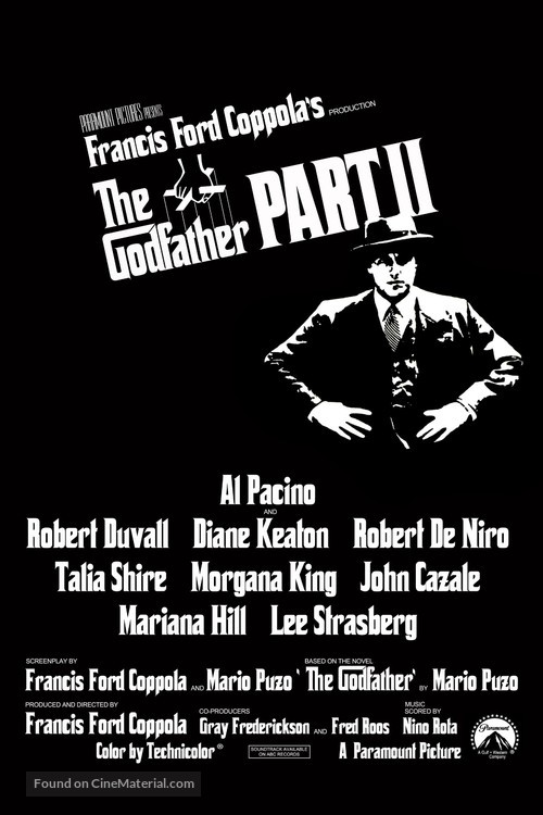 The Godfather: Part II - Movie Poster