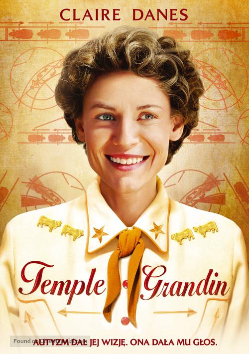 Temple Grandin (2010) Polish dvd movie cover