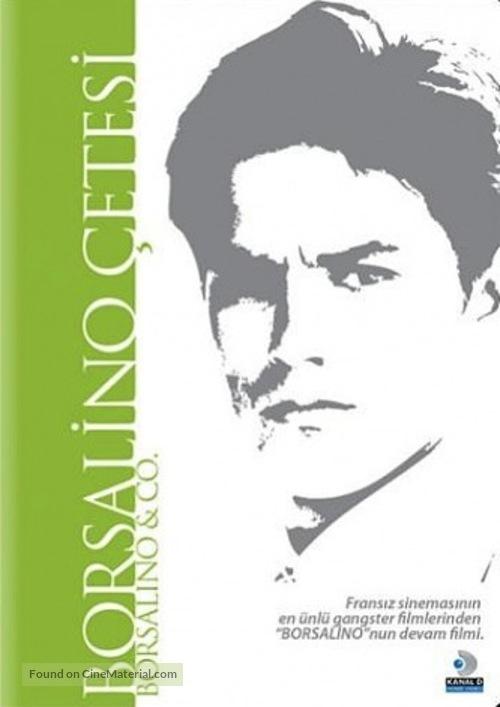Borsalino and Co. - Turkish DVD movie cover