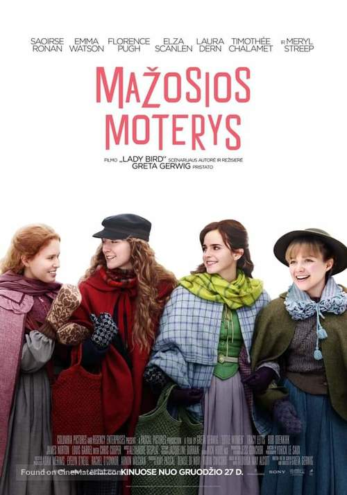 Little Women - Lithuanian Movie Poster