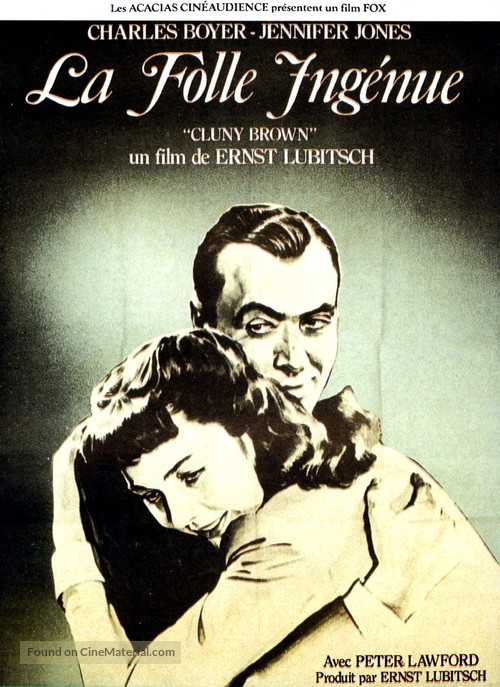 Cluny Brown - French Movie Poster