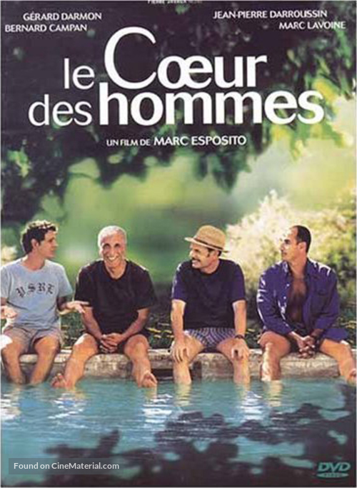 Le coeur des hommes - French DVD movie cover