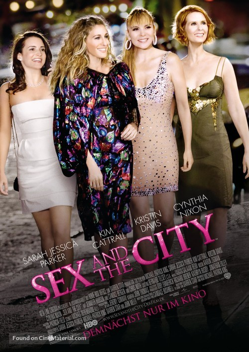 Sex and the City - German Advance movie poster