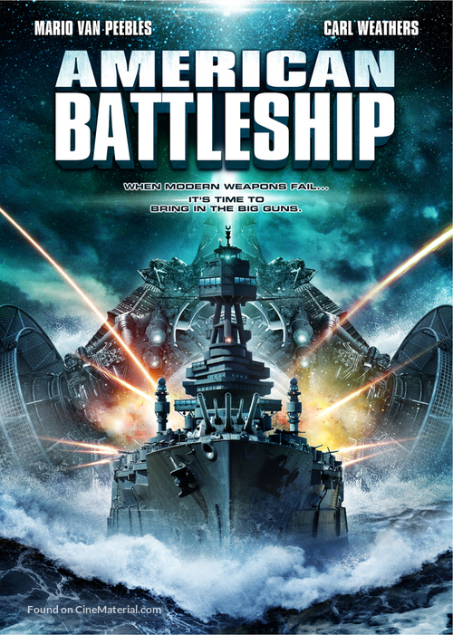 American Warships - DVD movie cover