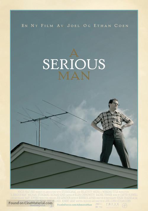 A Serious Man - Norwegian Movie Poster