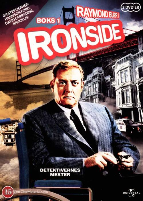 """Ironside"" - Danish DVD movie cover"