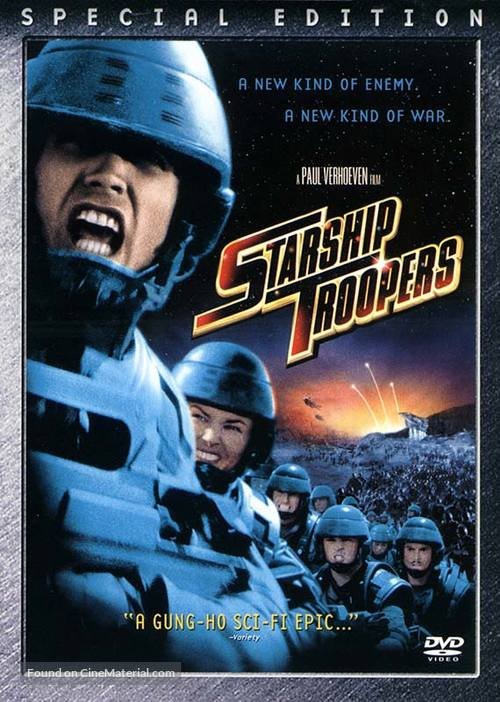 Starship Troopers - DVD movie cover