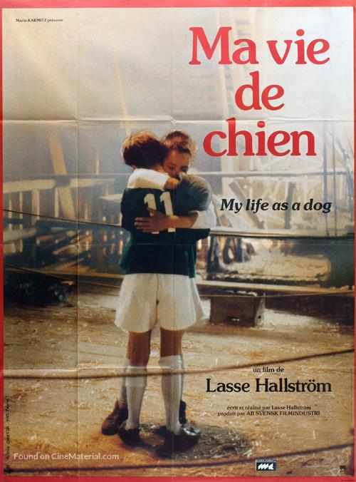 Mitt liv som hund - French Movie Poster