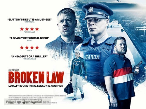 Broken Law - Irish Movie Poster