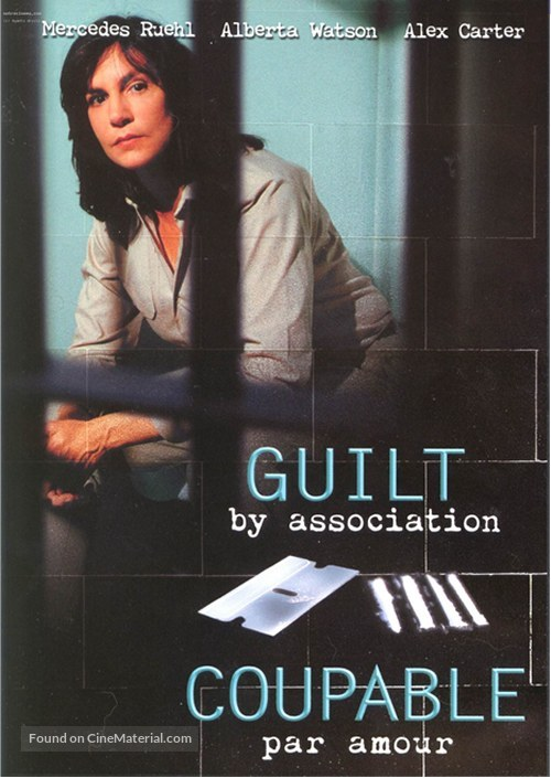 Guilt by Association - Canadian DVD movie cover