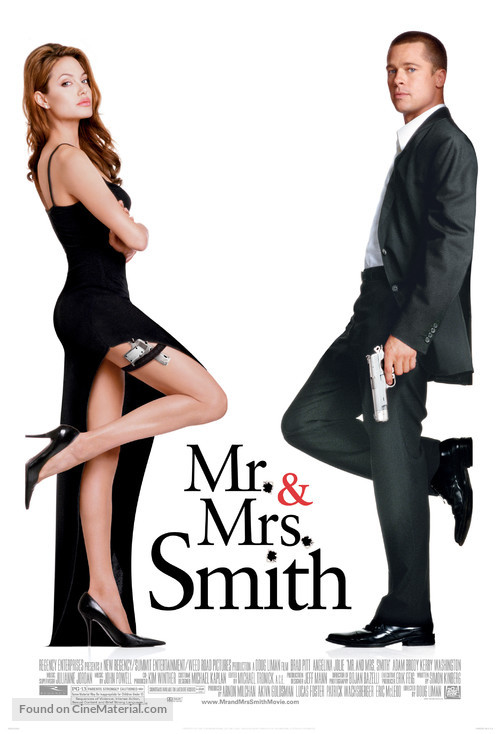 Mr. & Mrs. Smith - Theatrical movie poster