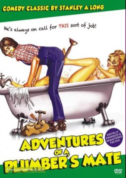 Adventures of a Plumber's Mate - DVD movie cover