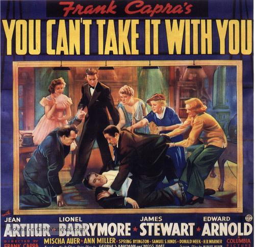 You Can't Take It with You - Movie Poster
