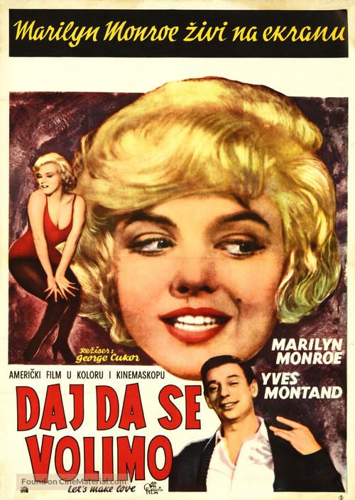 Let's Make Love - Yugoslav Movie Poster