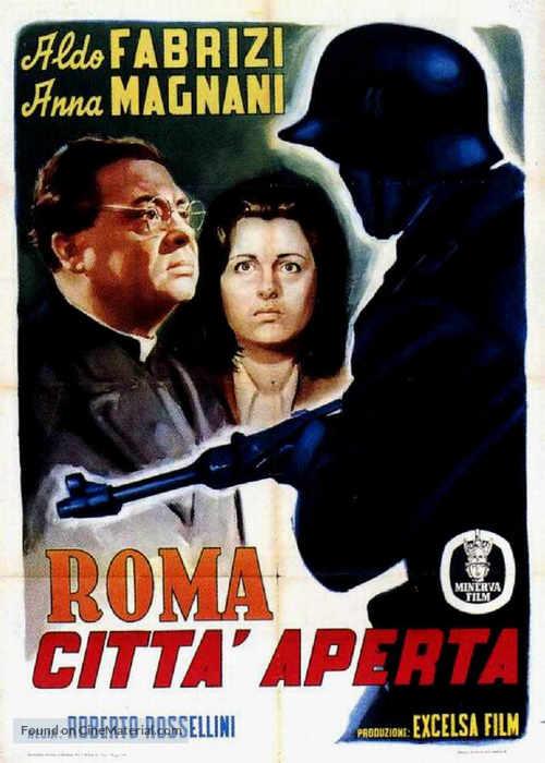 Roma, città aperta - Italian Movie Poster