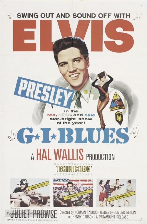 G.I. Blues - Movie Poster