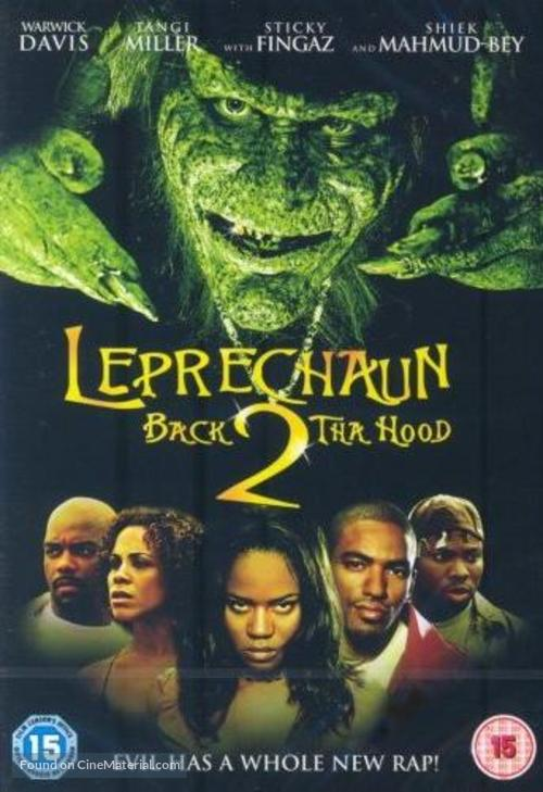 Leprechaun 6 - British Movie Cover
