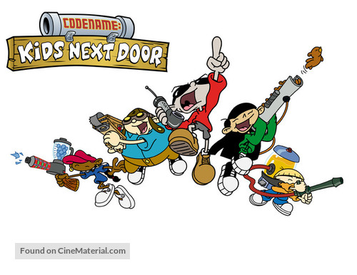 """Codename: Kids Next Door"" - Movie Poster"