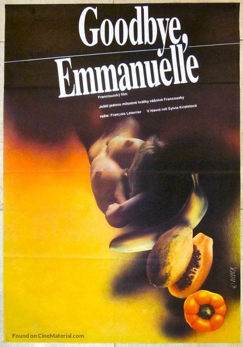 Good-bye, Emmanuelle - Yugoslav Movie Poster