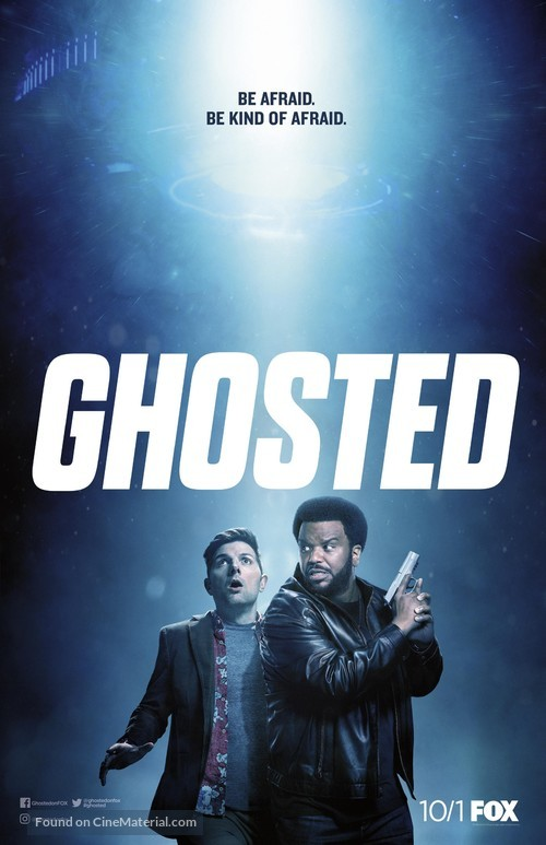 """""""Ghosted"""" - Movie Poster"""