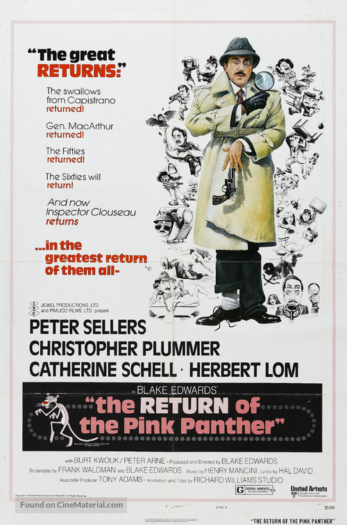 The Return of the Pink Panther - Movie Poster