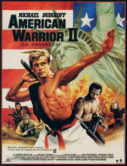 Avenging Force - French Movie Poster