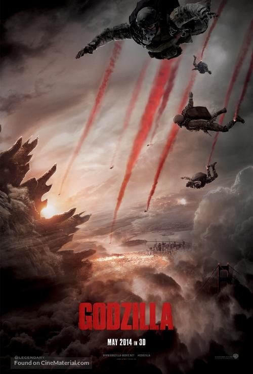 Godzilla - British Movie Poster