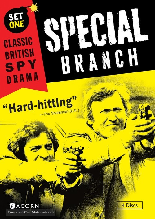 """""""Special Branch"""" - DVD movie cover"""