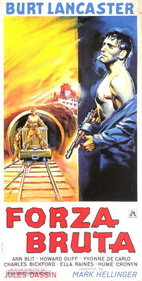Brute Force - Italian Movie Poster
