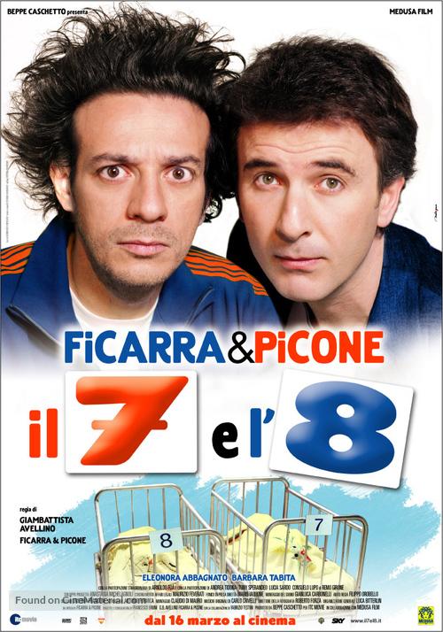 Il 7 e l'8 - Italian Movie Poster