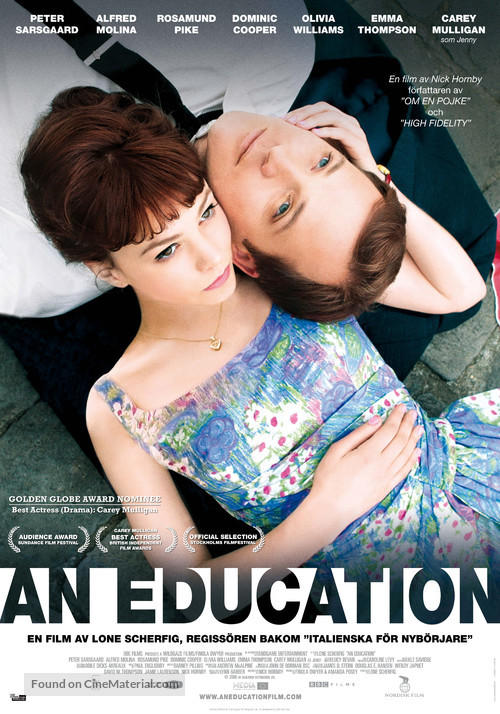 An Education - Swedish Movie Poster