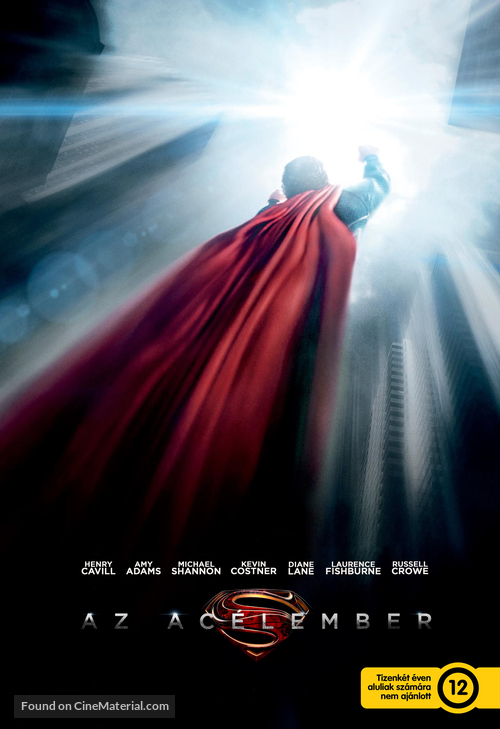 Man of Steel - Hungarian Movie Poster
