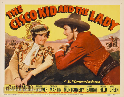 The Cisco Kid and the Lady - Movie Poster
