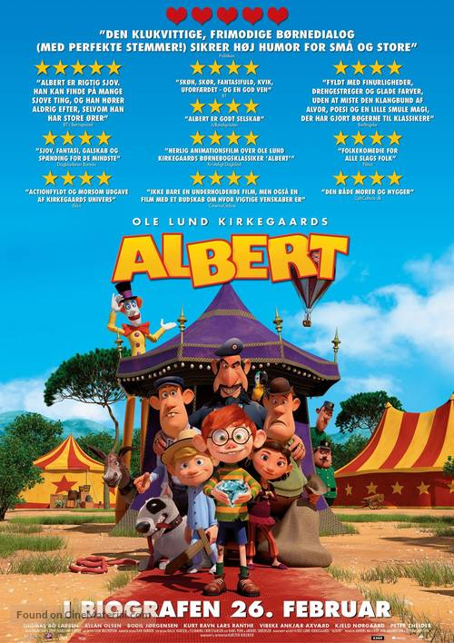 Albert - Danish Movie Poster