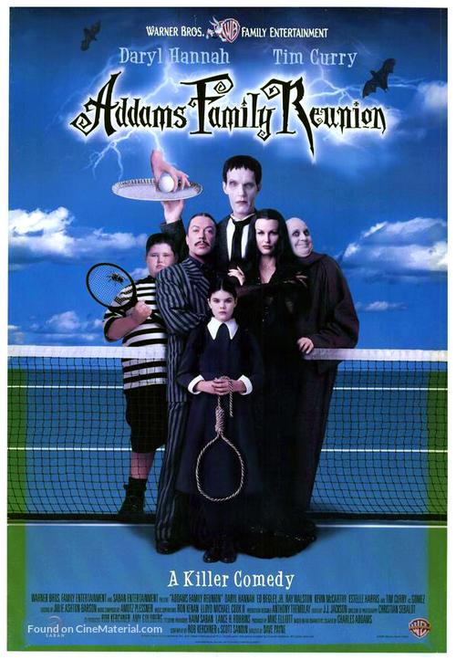 Addams Family Reunion - Movie Poster